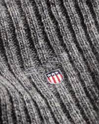 Мужской <b>шарф</b> Wool <b>Knit Scarf</b> Dark Grey Melange – купить в ...
