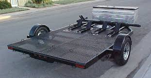tips for using a motorcycle trailer