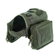 Dog Training Vest Khaki UEETEK Dog ...