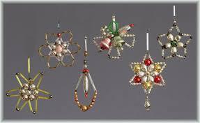 Top Konvolut 6 Gablonz Art Déco Um 1920 1960 Glas Sterne