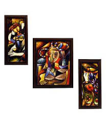 quick view on village rectangular wall art with paintings online buy paintings wall painting at best prices in