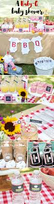 Warmer days are here, and what better reason to throw a BBQ than to  celebrate  Summer Baby ShowersThemes ...