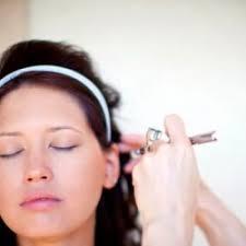 regular makeup vs airbrush makeup vs mineral makeup mice
