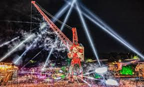 Arts Outdoor Lighting Technology Falcons At Glastonbury Festival Arts Outdoor Lighting