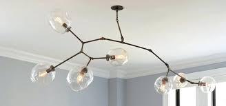 lindsey adelman lighting replica 6 arm branching bubble chandelier by lindsey adelman chandelier knock off
