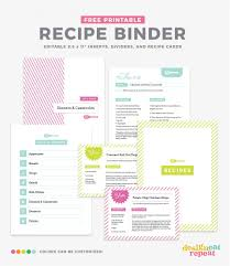 033 Recipe Book Template Free Pages Lovely How To Organize