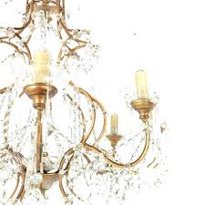 birdcage chandelier century french made in gilt bronze with original crystal and wiring floor lamp