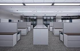 lighting for office space. office space at 500 west monroe in chicago lit with ge led lighting for