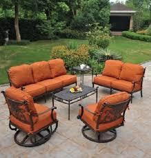 high end garden furniture. beautiful high end patio furniture grand tuscany 6 piece hanamint luxury cast aluminum garden