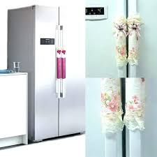 Refrigerator Handle Covers Walmart Cover Door Home Textile