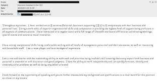 Sample Email Cover Letter Message to Hiring Manager Wikipedia