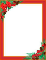 Santa Letterhead Word Template Buildbreaklearn Co
