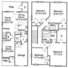 NS Newport U2013 Fort Adams Neighborhood 4 Bedroom Townhome Floor 4 Bedroom Duplex Floor Plans