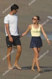 Novak Djokovic Jelena Djokovic Editorial Stock Photo - Stock Image