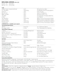 Acting Resume Beginner Acting Resume Beginner How To Make An Acting Resume Resumes For