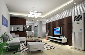 tv room lighting ideas. living room dark brown tv wall 3d design rendering incredible dining lighting ideas tv o