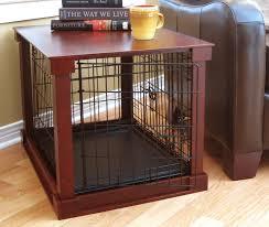 large dog crates furniture side table