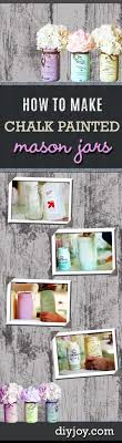 jar crafts home easy diy: rustic diy projects for the home mason jar crafts how to chalk paint mason