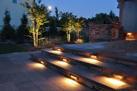 outdoor lighting effects. Outdoor Lighting Includes The Illumination Of Steps With Low Voltage Effects O