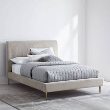Roar + Rabbit™ Pleated Upholstered Bed | west elm