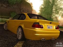 All BMW Models 91 bmw m3 : BMW M3 E46 for GTA San Andreas