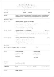 Machine Operator Resume Wonderful 3216 24 Machine Operator Resume Samples 24 Free Downloads