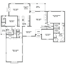 5 bedroom house plans single story lovely 1 4 floor 5 bedroom house plans single story lovely 1 4 floor