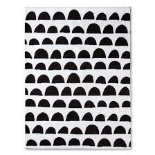 black and white rug patterns. 6 | Scallop Rug Black And White Patterns P