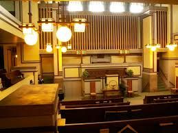 lloyd wright created oak unity church frank l wright design unitarian universalist church in oa