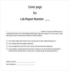 lab report cover page sample twenty hueandi co lab