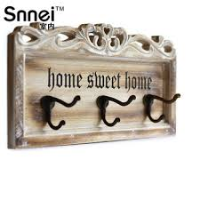snnei indoor retro wooden wall hanger hooks creative force of european decorative hooks coat hooks coat hook in on m alibaba com