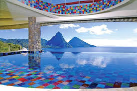 infinity pool united states. Jade Mountain Resort Infinity Pool United States G