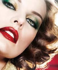 eye makeup and lipstick 02