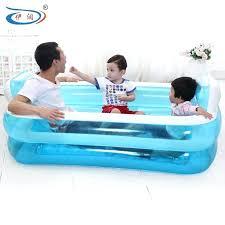inflatable bathtub baby inflatable bathtub folding tub thickening bathtub child bath basin bath bucket plastic swimming pool
