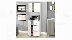 Image Drawer Amazoncom Inval Tall Kitchen Storage Cabinet