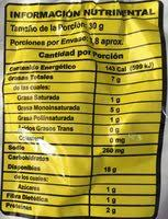 cheetos xtra flamin hot nutrition facts
