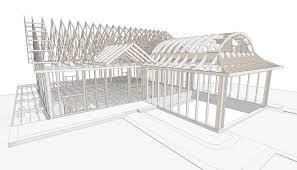 dutch cote roof framing
