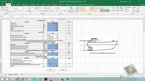 Stability Shipload Trim - Calculator amp;