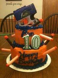 Nerf gun cake Cakes I have made Pinterest