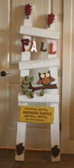 8 best images about Seasonal ladders & Decorations on Pinterest ... & Those of you from Utah, and familiar with Quilted Bear probably recognize  the white ladder Adamdwight.com