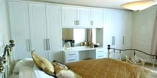 Bedroom Furniture Built In Wardrobes How Much Do Fitted Wardrobes Delectable Bedroom Furniture Fitted