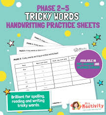 Split into 7 groups, the worksheets contain all 42 letter sounds. Phase 3 Phonics Mrs Mactivity