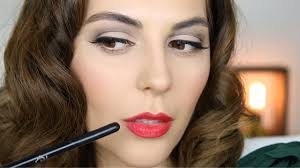 40 s style makeup tutorial
