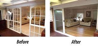 stacker doors 3 panel aluminium doors wooden stacker doors nz