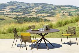 outdoor table aluminium fixed or