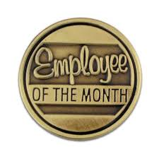employee of month employee of the month pin