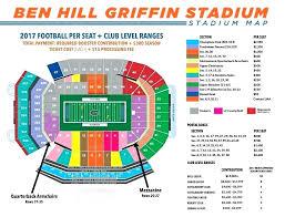 Ben Hill Griffin Seating Chart Hill Griffin Stadium Ben Hill