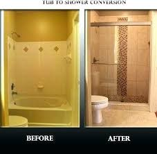 tub to shower conversion costs bath re cost