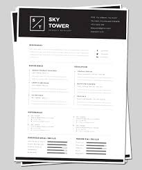 Modern Elegant Font For Resume Modern Elegant Builder Resume Design For Premium Mockups