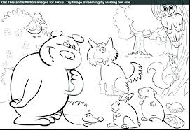 Coloring Pages Forest Animals Forest Animals Coloring Pages Animal Coloring Pictures To Print